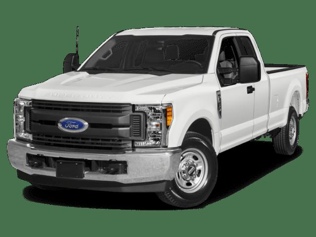 2019 Ford F-250 Super Duty in white