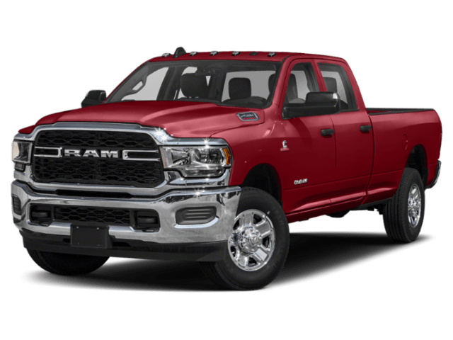 2019 RAM 2500 in red