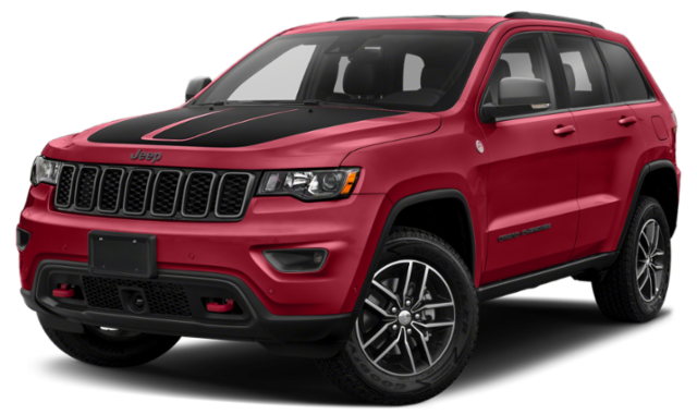 2020 Red Jeep Grand Cherokee