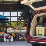2020 Chrysler Pacifica trunk open