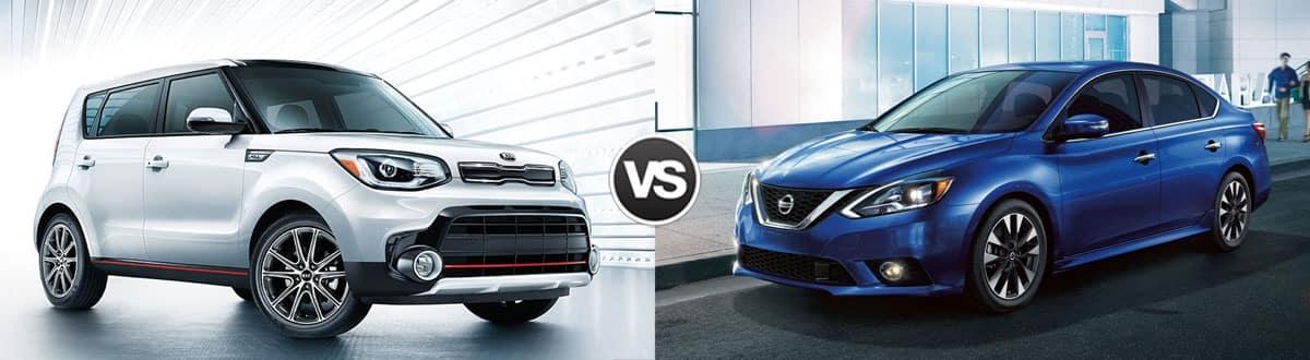 2019 Kia Soul vs 2019 Nissan Sentra