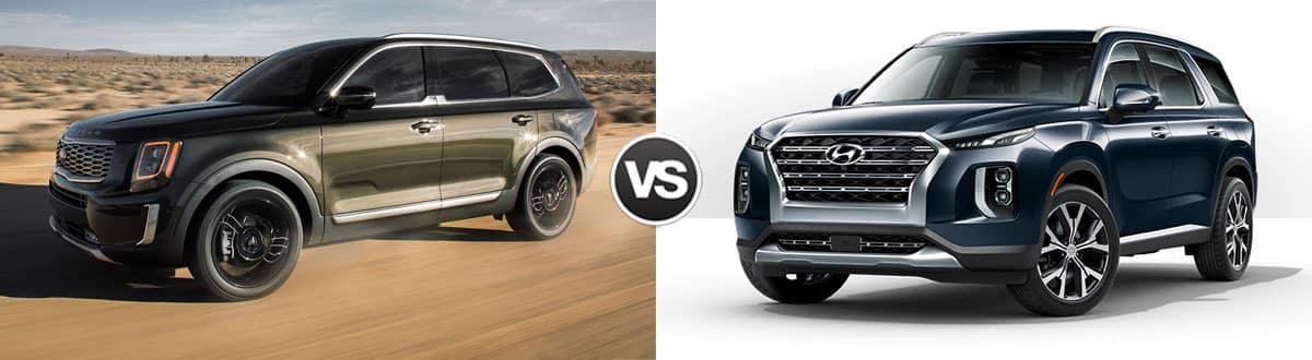 2020 Kia Telluride vs 2020 Hyundai Pallisade