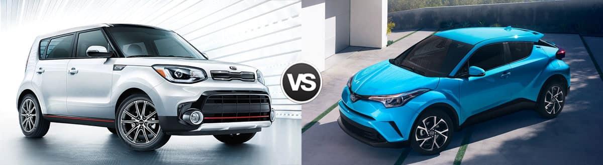 2019 Kia Soul vs 2019 Toyota C-HR