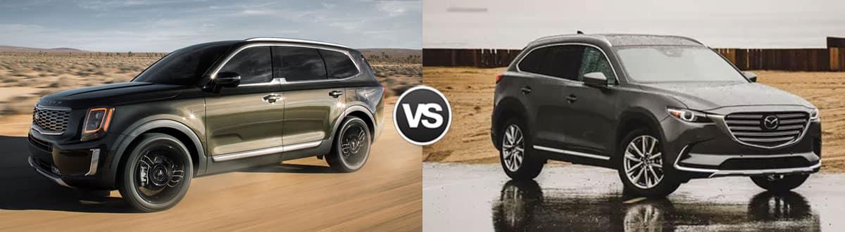 2019 Kia Telluride vs 2019 Mazda CX-9
