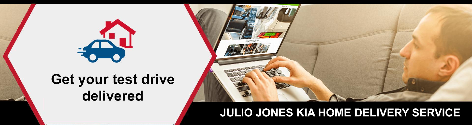 Julio Jones Kia Home Delivery