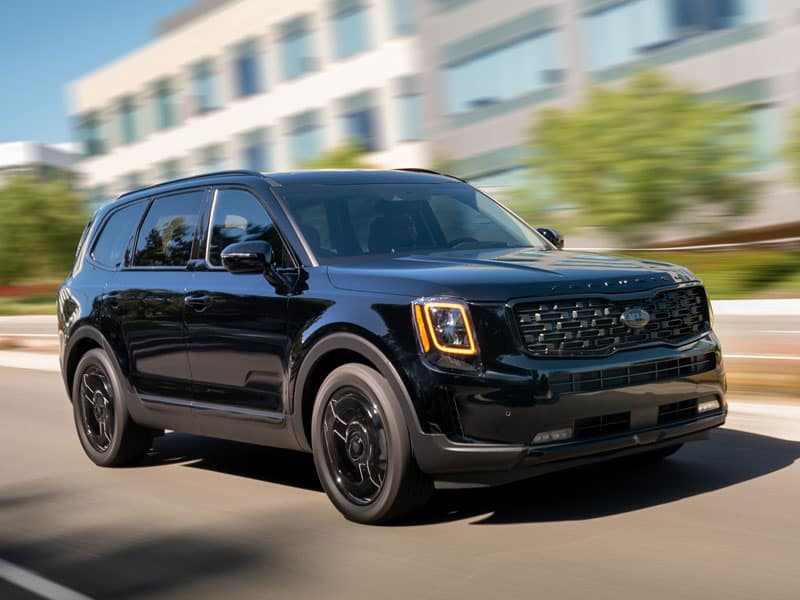 2022 Kia Telluride four trim levels to choose from