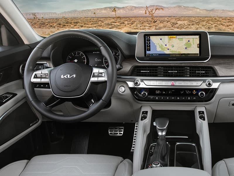 2022 Kia Telluride interior comfort and technology
