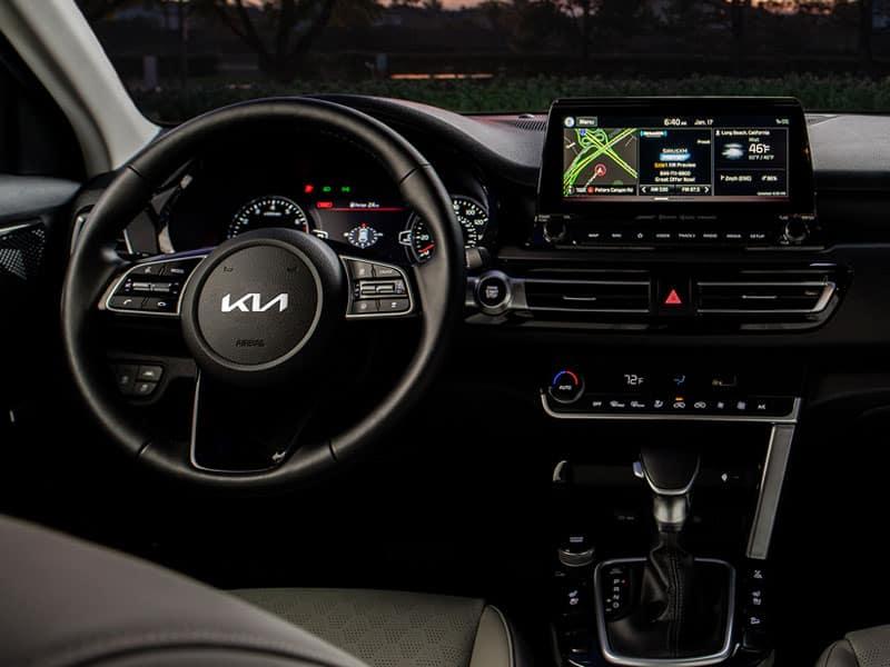 2022 Kia Seltos interior comfort and technology