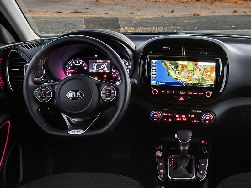 2022 Kia Soul interior comfort and technology