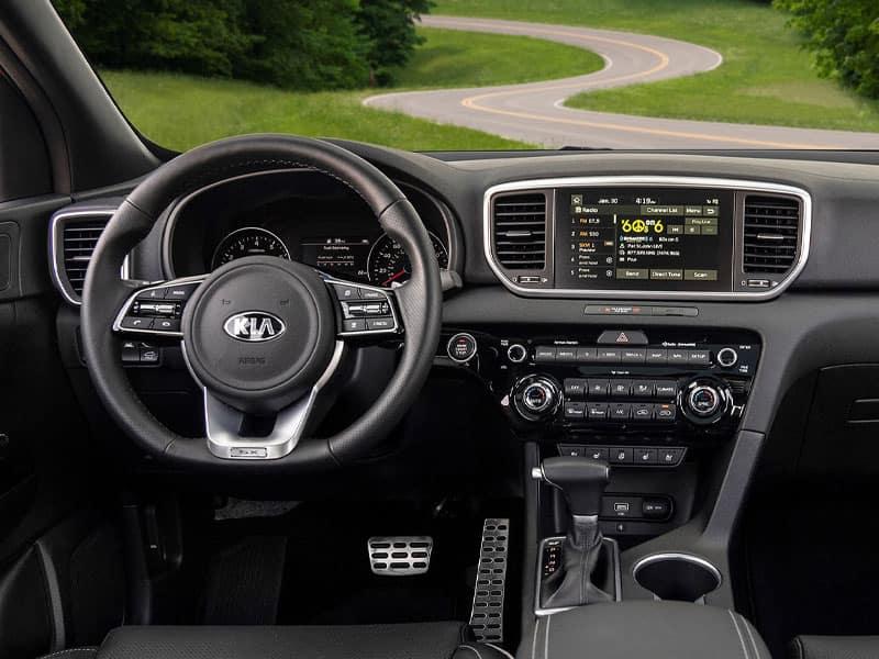 2022 Kia Sportage interior comfort and technology