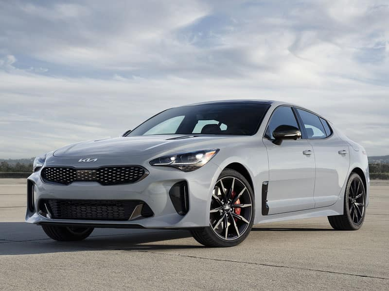 2022 Kia Stinger models and trim levels