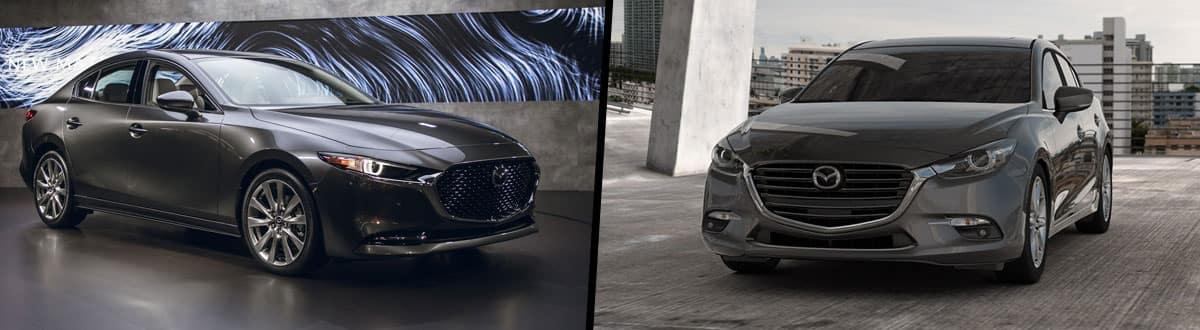 2019 Mazda 3 vs 2018 Mazda 3
