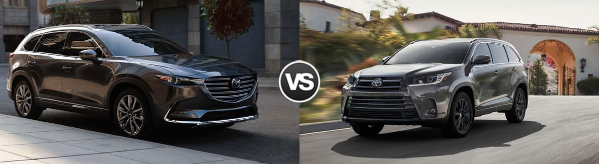 2019 Mazda CX-9 vs 2019 Toyota Highlander