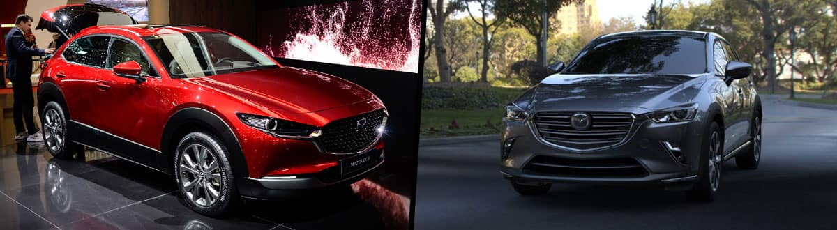 2020 Mazda CX-30 vs Mazda CX-3