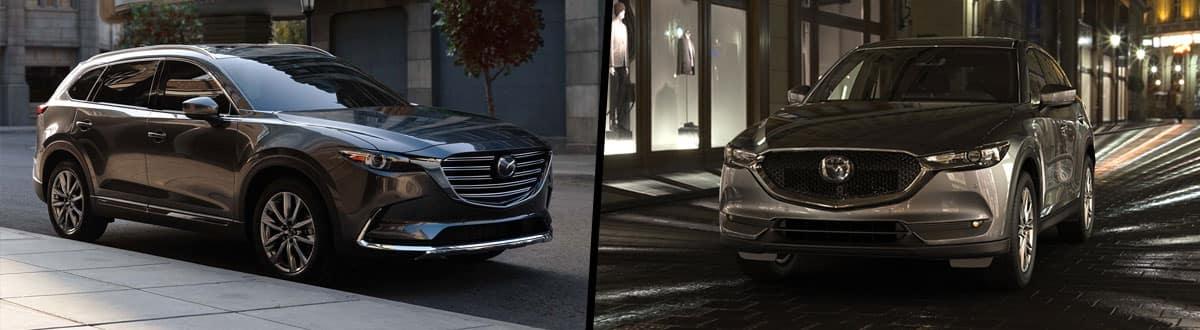 2019 Mazda CX-9 vs 2019 Mazda CX-5