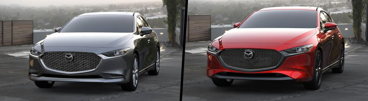 2019 Mazda3 Sedan vs 2019 Mazda3 Hatchback