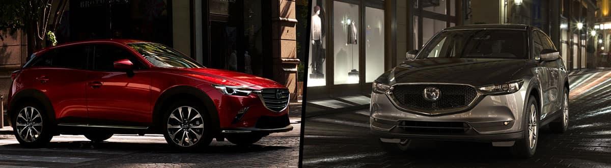 2019 Mazda CX-3 vs 2019 Mazda CX-5