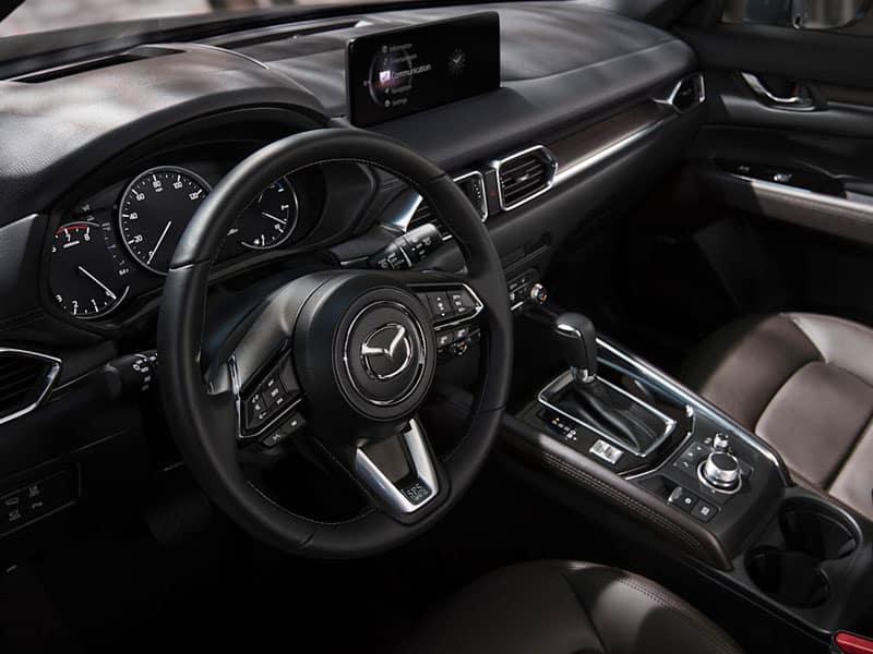 2021 Mazda CX-5 interior comfort and technology