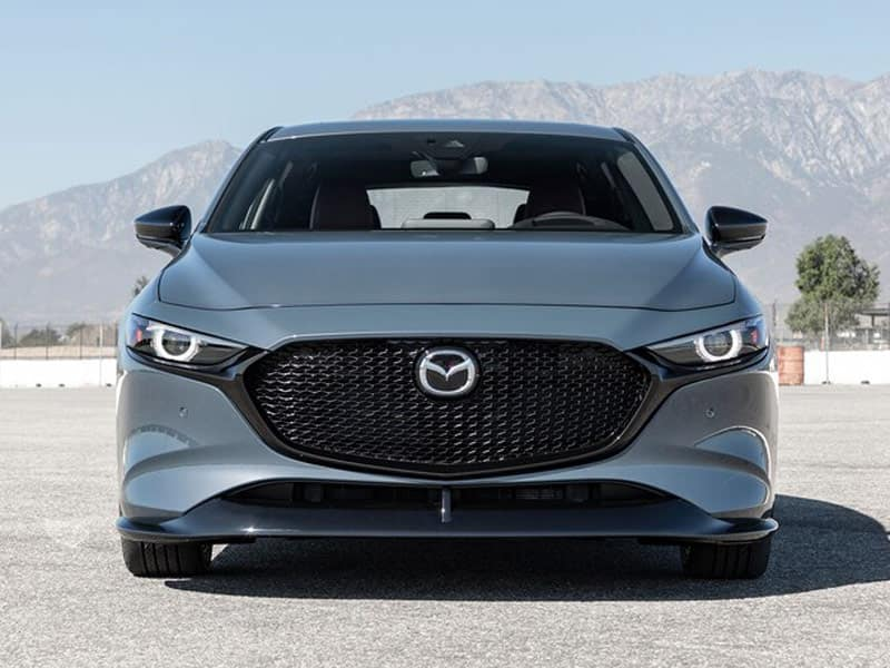 2021 Mazda3 Hatchback model lineup and interior technology