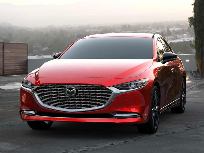 2021 Mazda3 Sedan model lineup and interior technology