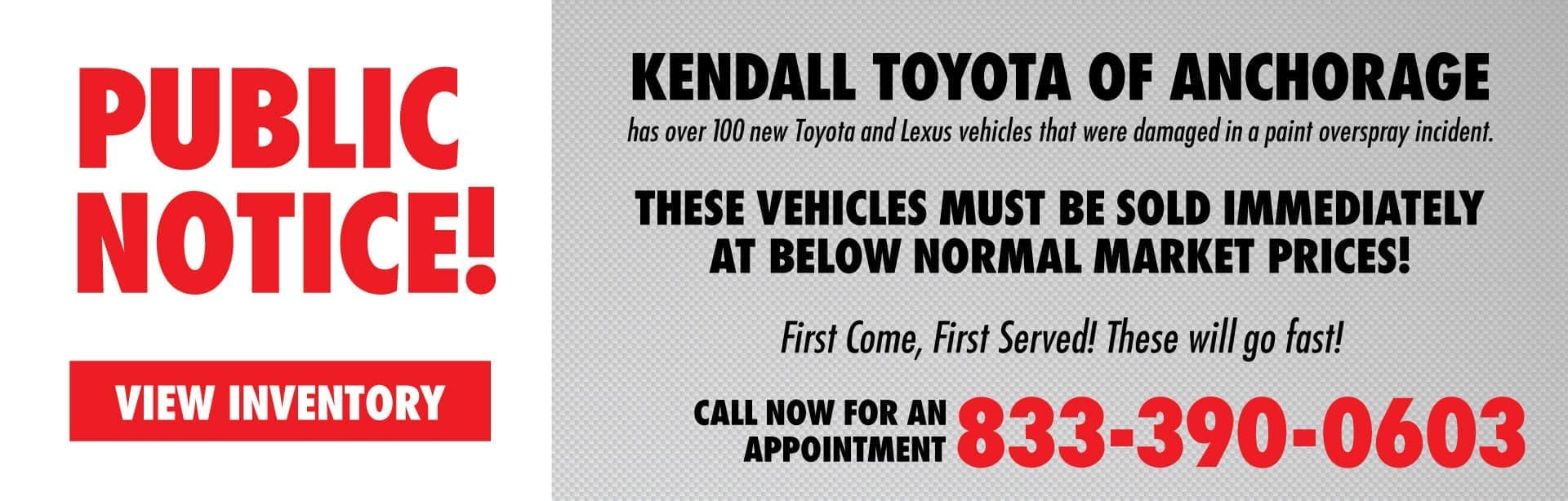 Kendall Auto Group Overspray Vehicles Sale