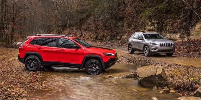 New Jeep SUVs