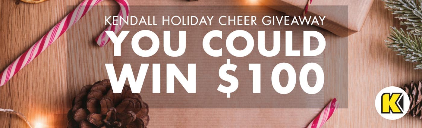 kendall holiday cheer giveaway
