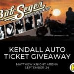 win bob seger tickets
