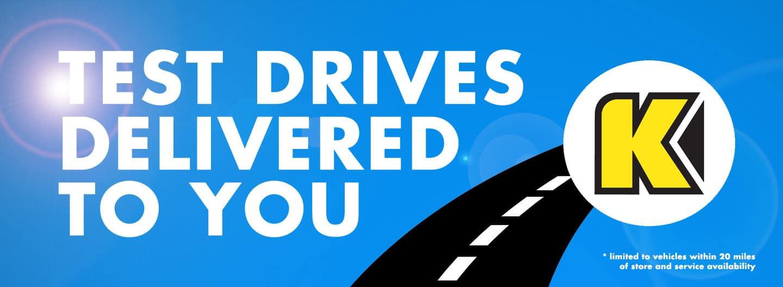 Honda Test Drives Delivered To You