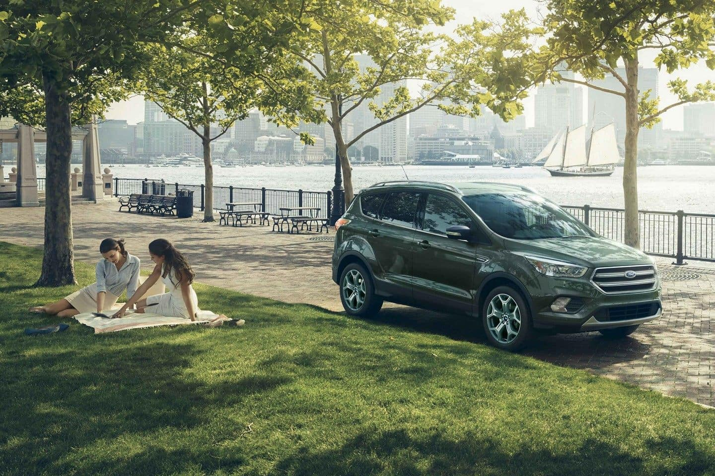 2019 Ford Escape Parked