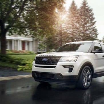 2019 Ford Explorer White