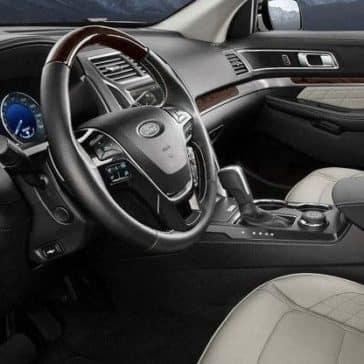 2019 Ford Explorer Cabin