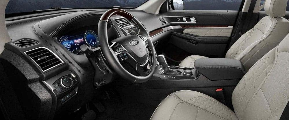 2019 Ford Explorer Cabin