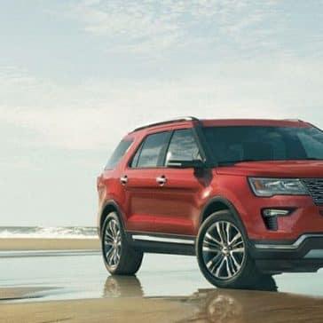 2019 Ford Explorer On Beach