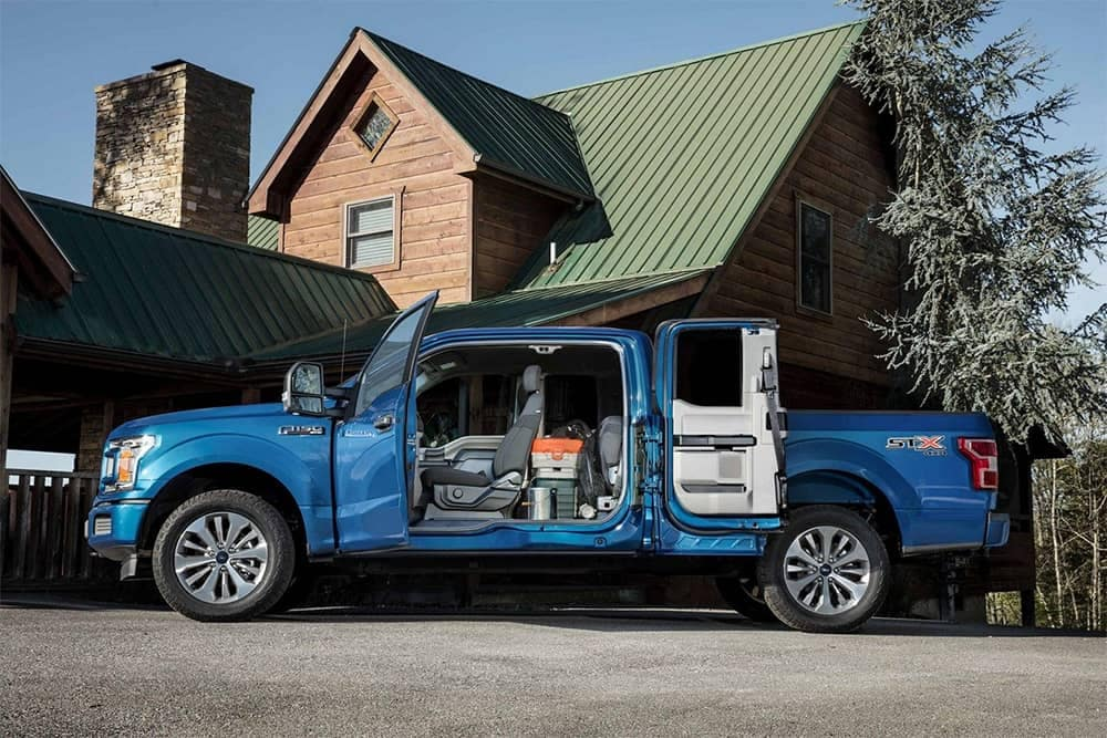 2019 Ford F-150 Doors Open