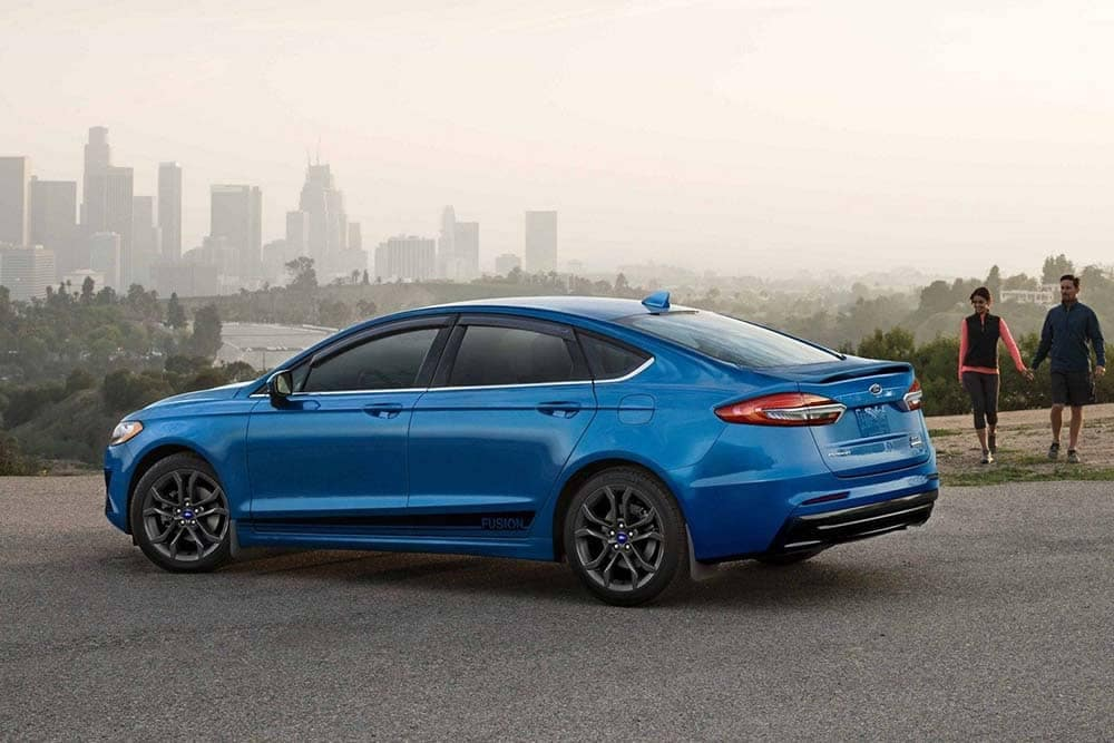 2019 Ford Fusion Parked
