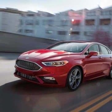 2019 Ford Fusion Driving