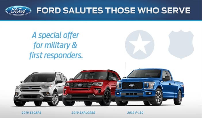 Ford Military Rewards