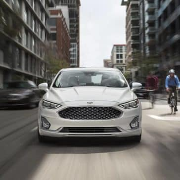 2020 Ford Fusion Grill