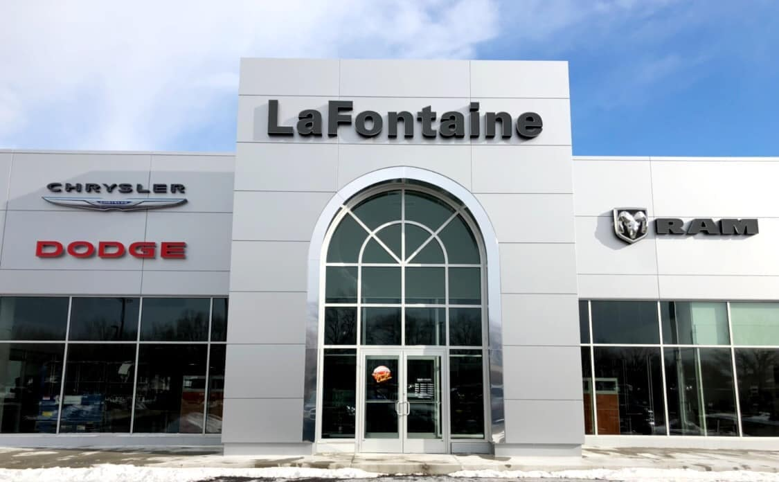 Exterior Building of NEW LaFontaine Chrysler Dodge Jeep Ram of Fenton
