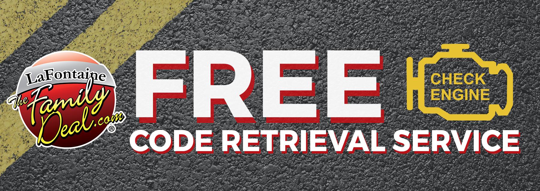 Free Check Engine Light Code Retrieval Service | LaFontaine