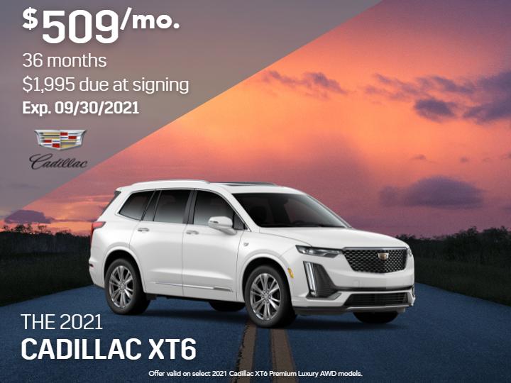 New 2021 Cadillac XT6 Premium Luxury AWD