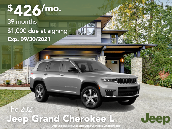 New 2021 Jeep Grand Cherokee L Limited 4WD