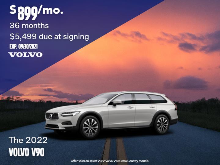 New 2022 Volvo V90 Cross Country AWD
