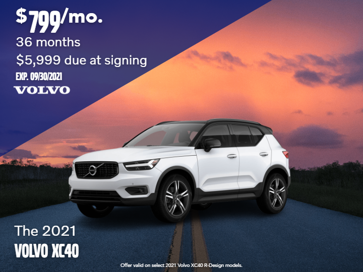 New 2021 Volvo XC40 Recharge Pure Electric P8 SUV