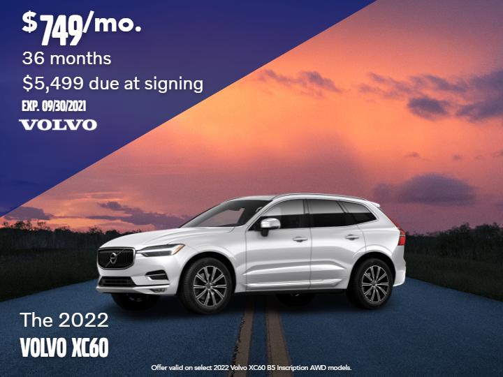 New 2022 Volvo XC60 B5 Inscription