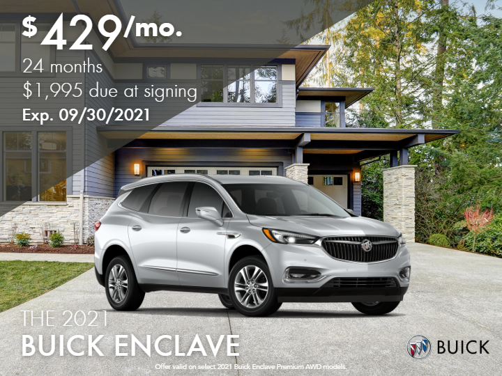 New 2021 Buick Enclave Preferred FWD 1SN