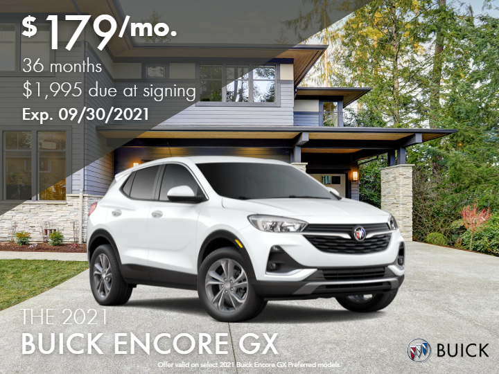 New 2021 Buick Encore GX Preferred FWD - DEMO