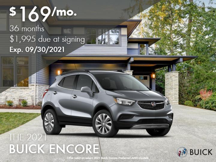 New 2021 Buick Encore Preferred AWD - DEMO