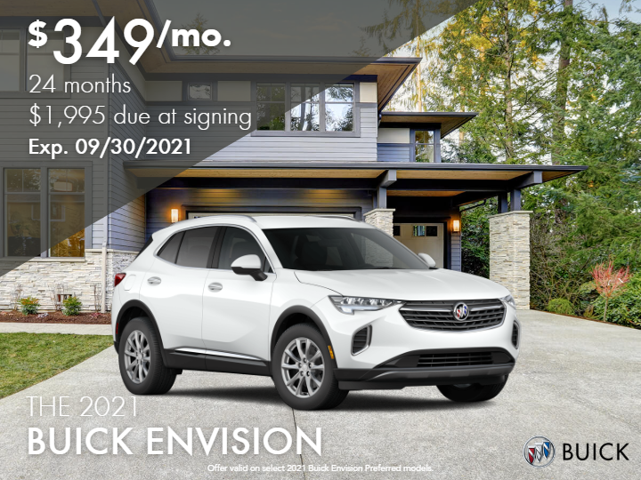 New 2021 Buick Envision Essence AWD
